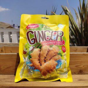 آبنبات زنجبیلی ginger coconut candy
