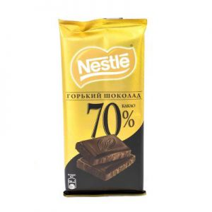 شکلات تلخ نستله 70 درصد
