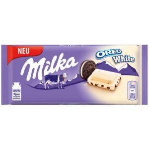 شکلات میلکا اورئو سفید