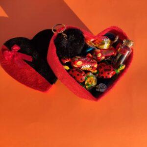 پک شکلات ولنتاین طرح قلب