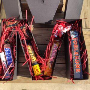 جعبه حروف شکلات